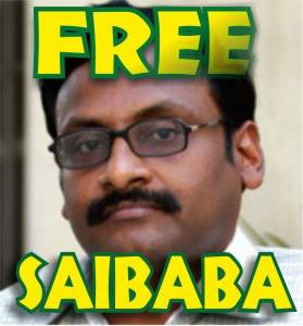 G.N.Saibaba visits private hospital, but cops take him back to jail #WTFnews